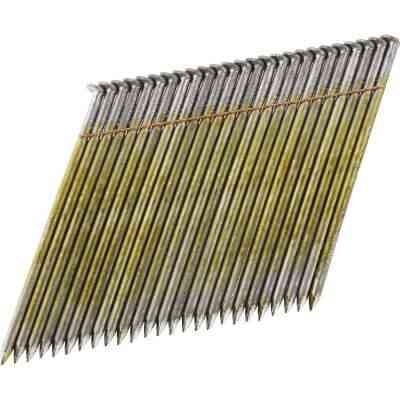 Bostitch 28 Degree Wire Weld Coated Offset Round Head Framing Stick Nail, 3-1/2 In. x .131 In. (2000 Ct.)