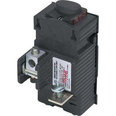 Connecticut Electric 15A Single-Pole Standard Trip Packaged Replacement Circuit Breaker For Pushmatic