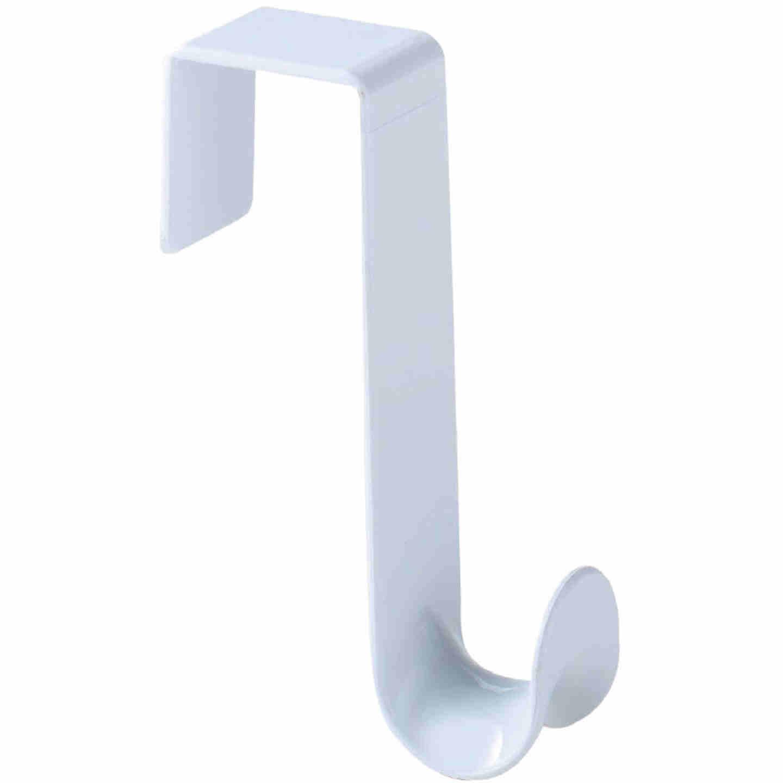 Spectrum White Plastic Over-The-Door Hook 4-3/4 In. Image 2