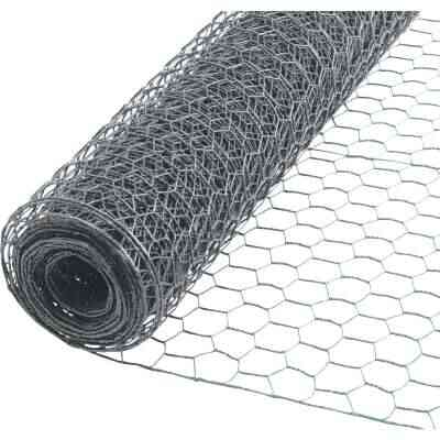 1/2 In. x 48 In. H. x 25 Ft. L. Hexagonal Wire Poultry Netting